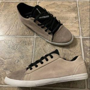 Supra Assault 2 Tone Suede Skate Shoes Men's